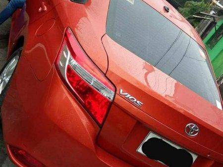 Orange Toyota Vios 2016 for sale in Manual