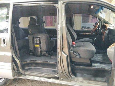 Grey Hyundai Starex 2001 for sale in Lubao