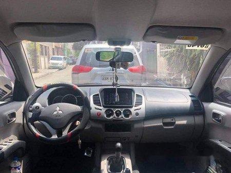 Sell Grey 2014 Mitsubishi Strada in Pasig