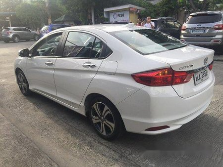 White Honda City 2015 Automatic for sale