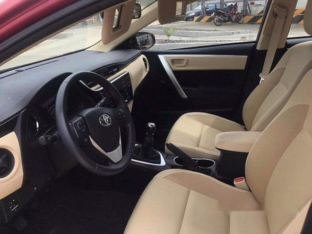 Red Toyota Corolla Altis 2017 for sale in Quezon City
