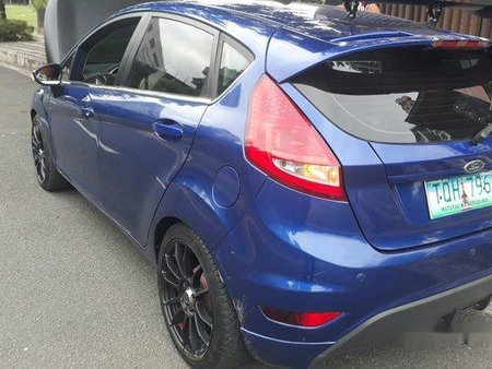 Selling Blue Ford Fiesta 2012 Automatic Gasoline