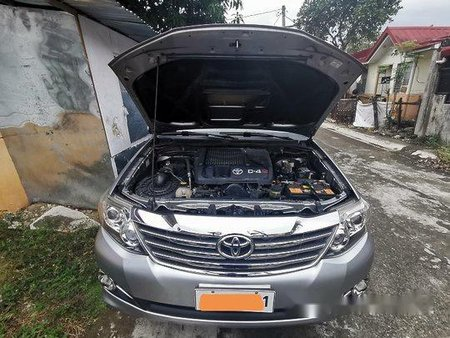 Selling Silver Toyota Fortuner 2015 in Taguig