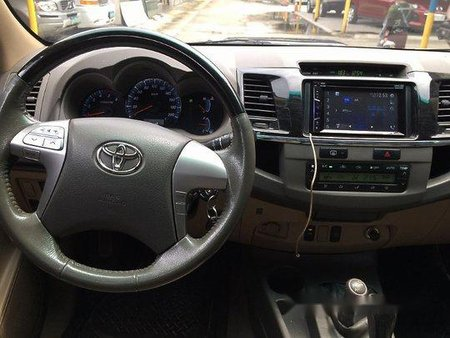 Sell Black 2012 Toyota Fortuner in Parañaque