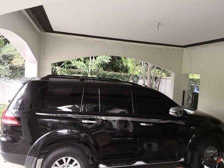 Black Mitsubishi Montero Sport 2015 Automatic for sale