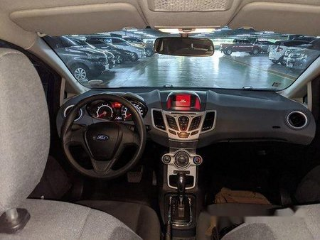 Blue Ford Fiesta 2011 Automatic for sale