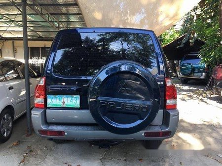 Blue Mitsubishi Pajero 2003 Automatic for sale