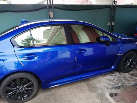 Blue Subaru Wrx 2015 at 47000 km for sale