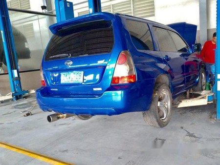 Sell Blue 2007 Subaru Forester in Bacoor