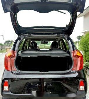Black Kia Picanto 2016 for sale in Tanza