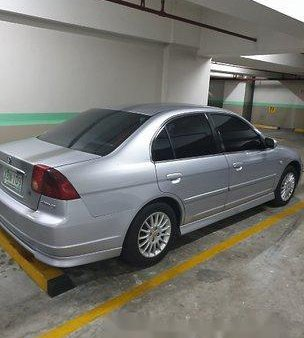 Silver Honda Civic 2002 at 160000 km for sale