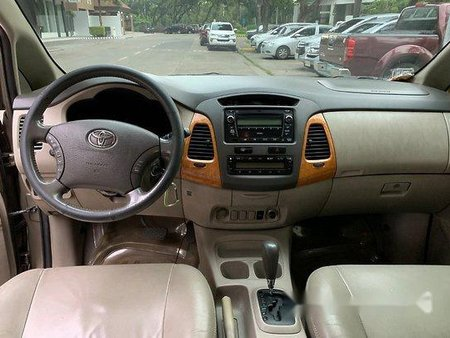 Beige Toyota Innova 2010 Automatic for sale