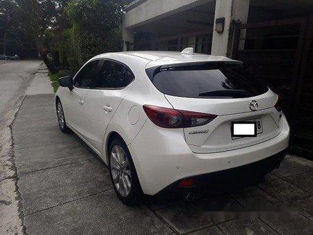 White Mazda 3 2015 Automatic for sale