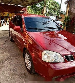 Sell Red 2004 Chevrolet Optra Manual Gasoline