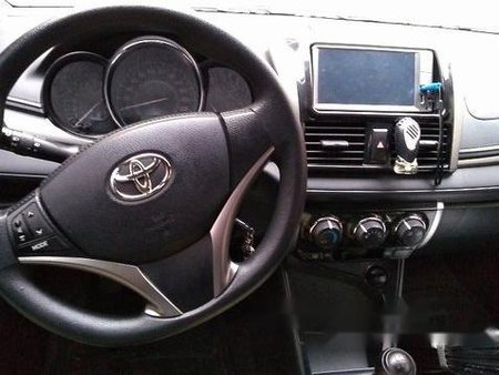 Silver Toyota Vios 2016 Manual for sale