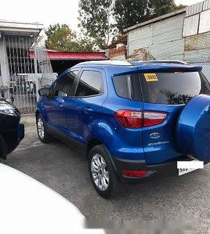 Blue Ford Ecosport 2017 for sale in Silang