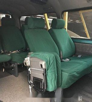 Green Nissan Urvan 2014 Manual for sale