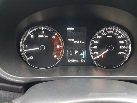 Sell White 2016 Mitsubishi Montero Sport at 106000 km