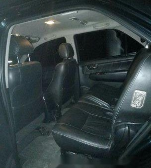 Selling Black Toyota Fortuner 2014 at 80000 km