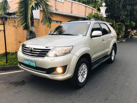 Toyota Fortuner G 2012 for sale