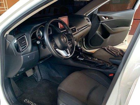 Pearl White Mazda 3 2015 for sale in Quezon