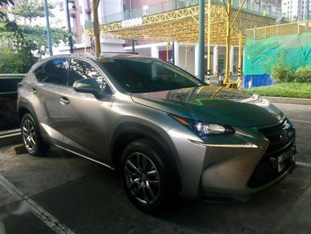 Sell Silver 2017 Lexus Nx in Quezon City
