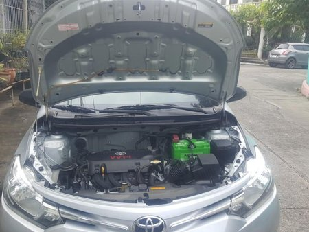 Silver Toyota Vios 2015 for sale in Meycauayan