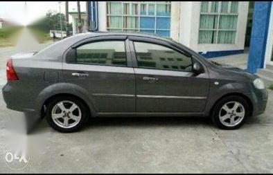 Selling Grey Chevrolet Aveo 2011 in Manila
