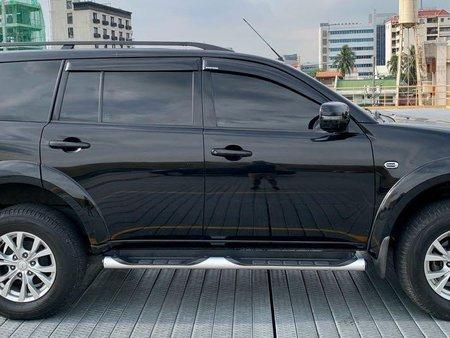 Black Mitsubishi Montero 2014 for sale in Manual