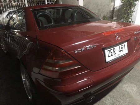 Sell Red 2000 Mercedes-Benz 230 in Manila