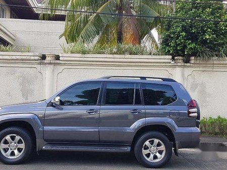 Black Toyota Land cruiser prado 2003 for sale in Automatic