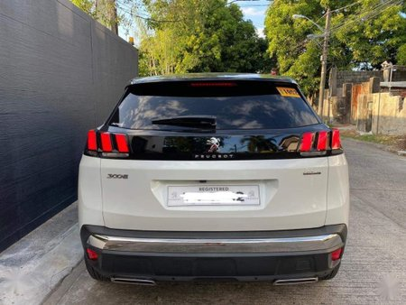 White Peugeot 3008 2018 for sale in Pasig
