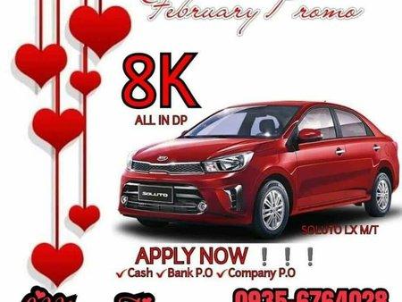 Red Kia Soluto 0 for sale in