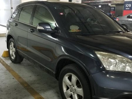 Black Honda Cr-V 2008 for sale in Mandaluyong