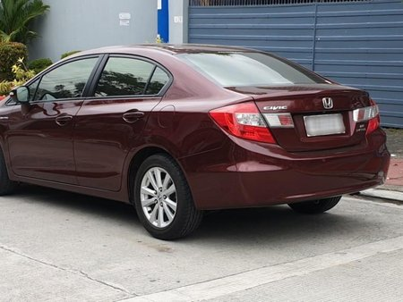 Selling Purple Honda Civic 2012 in Quezon City