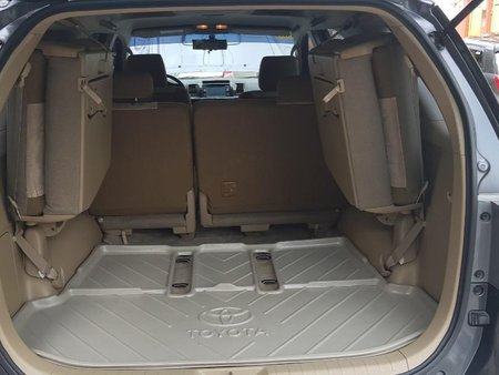 Sell Grey 2014 Toyota Fortuner in Quezon City