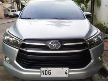 Silver Toyota Innova 2015 for sale in Manual
