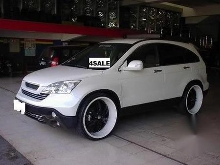 White Honda Cr-V 2006 for sale in Automatic