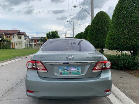 Silver Toyota Corolla altis 2012 Sedan at 100000 for sale in Angeles