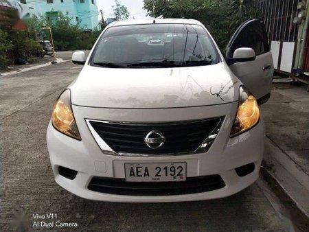 White Nissan Almera 2014 for sale in Calamba