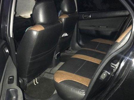 Selling Black Mitsubishi Lancer 2008 in Manila