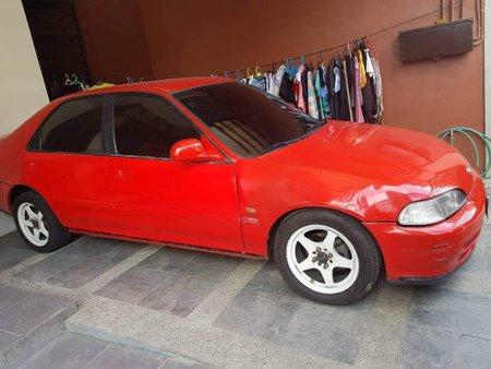 Red Honda Civic 1993 for sale in Manila