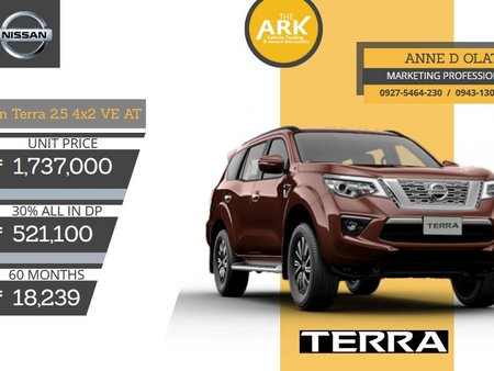 2020 Nissan Terra for sale in Pasig