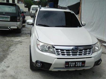 White Subaru Forester 2013 for sale in Manila