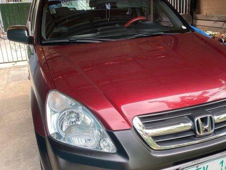 Red Honda Cr-V 2002 for sale in Manila