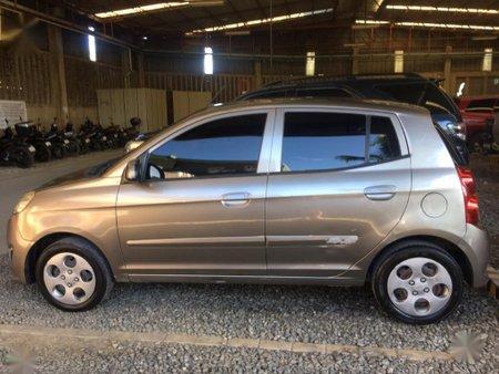 Grey Kia Picanto 2011 for sale in Automatic