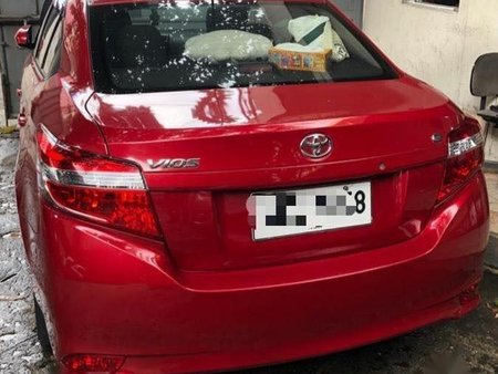 Selling Red Toyota Vios 2018 in Manila
