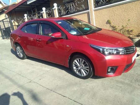 Sell Red 2014 Toyota Corolla altis in Dasmariñas