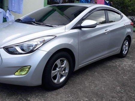 Silver Hyundai Elantra 2012 Sedan at 67500 for sale