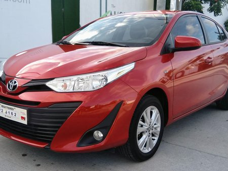 Toyota Vios 2019 Automatic not 2018